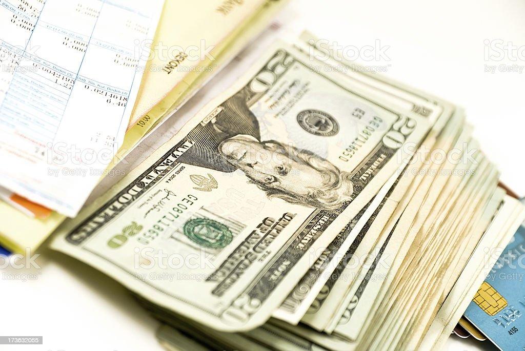 expenses,money royalty-free stock photo
