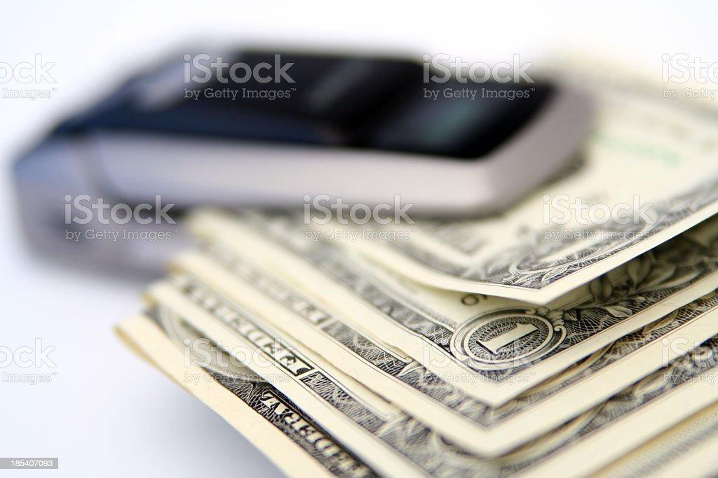 Expensive call stock photo