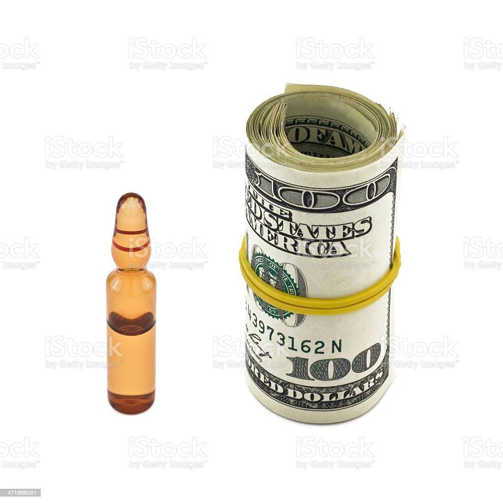 expensive drug stock photo