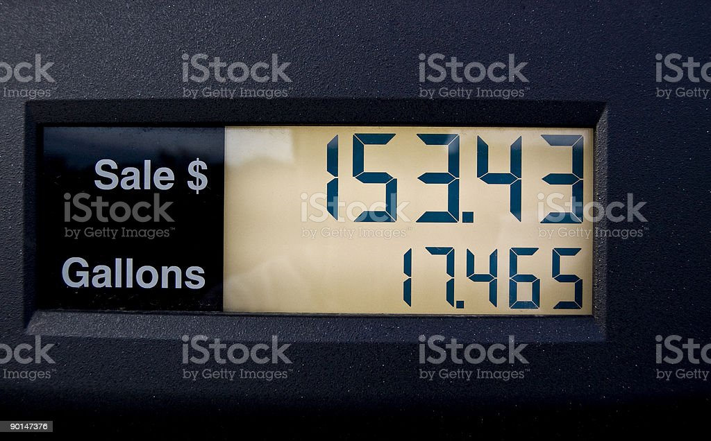 Expensive Gas stock photo
