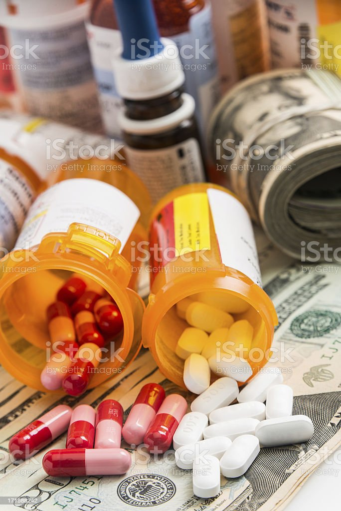 Expensive healthcare royalty-free stock photo
