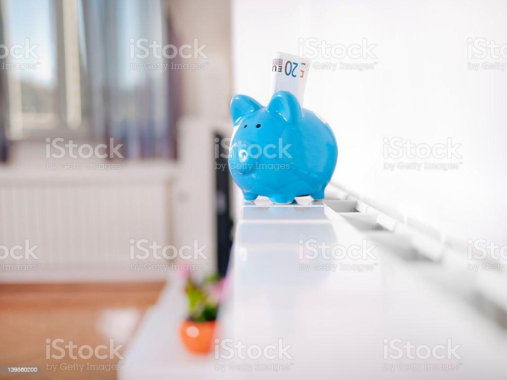 Expensive heating stock photo