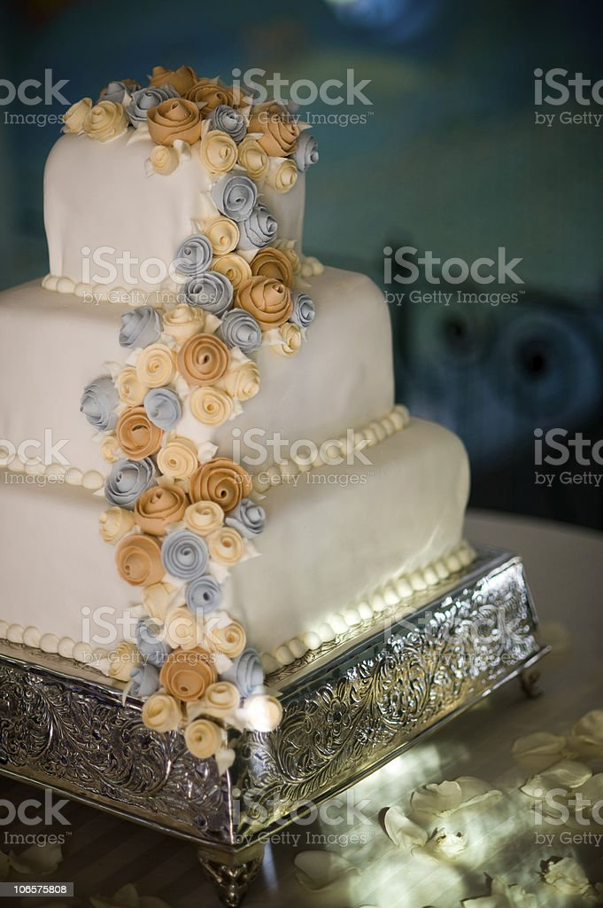 Expensive Wedding Cake royalty-free stock photo