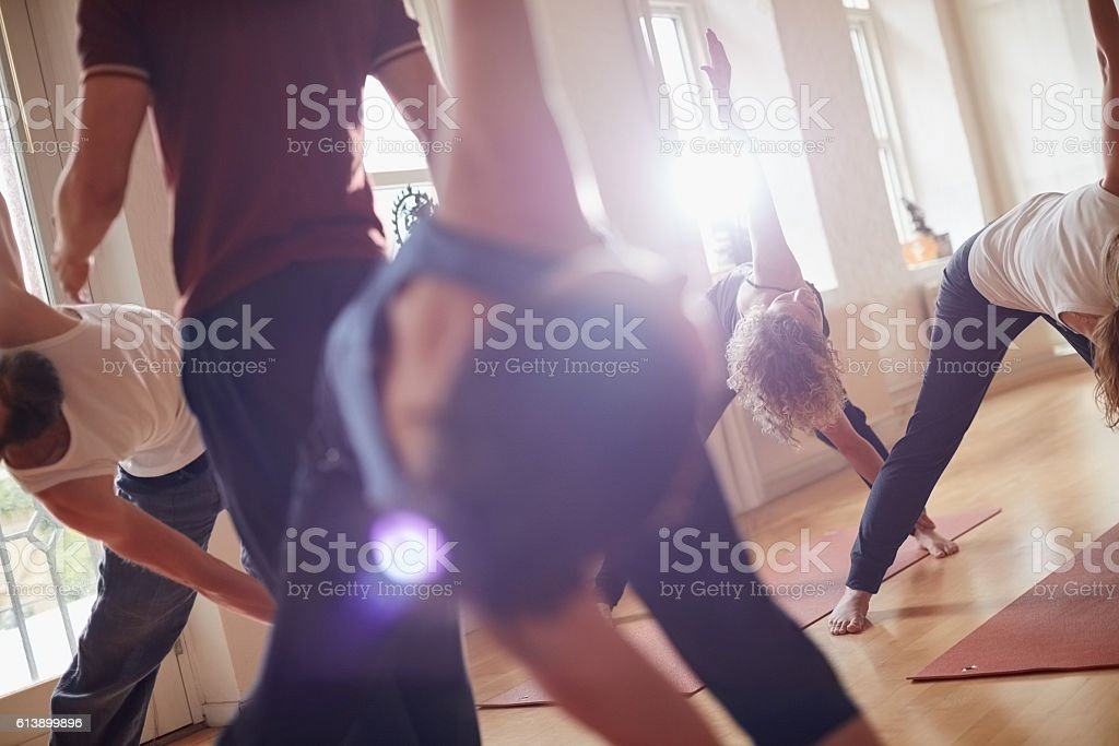 Experience a sense of freedom through movement stock photo