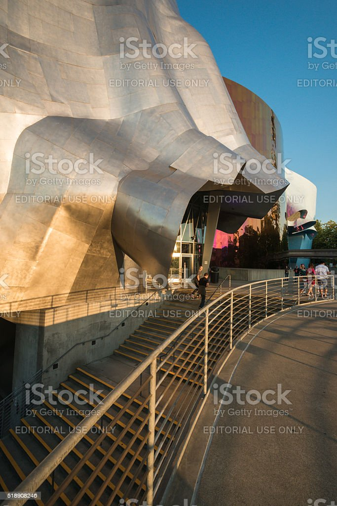 Experience Music Project stock photo