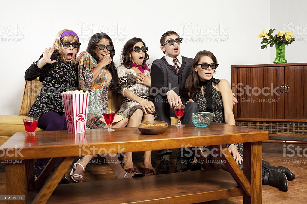 3D experience stock photo