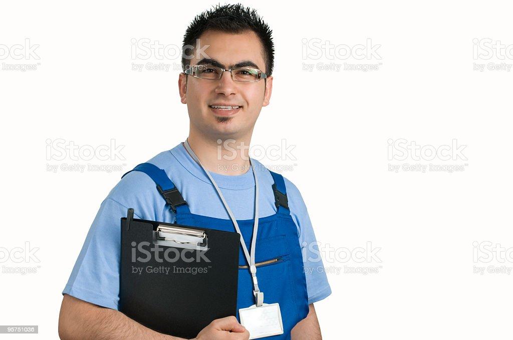 Experience Repairmen stock photo
