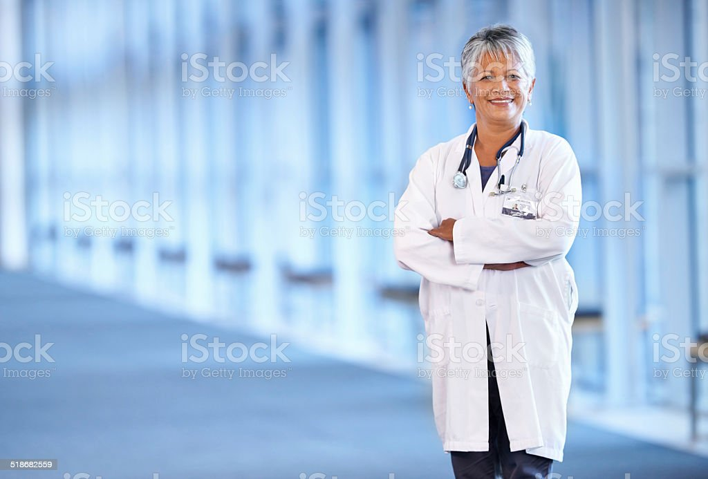 Experience you can trust stock photo