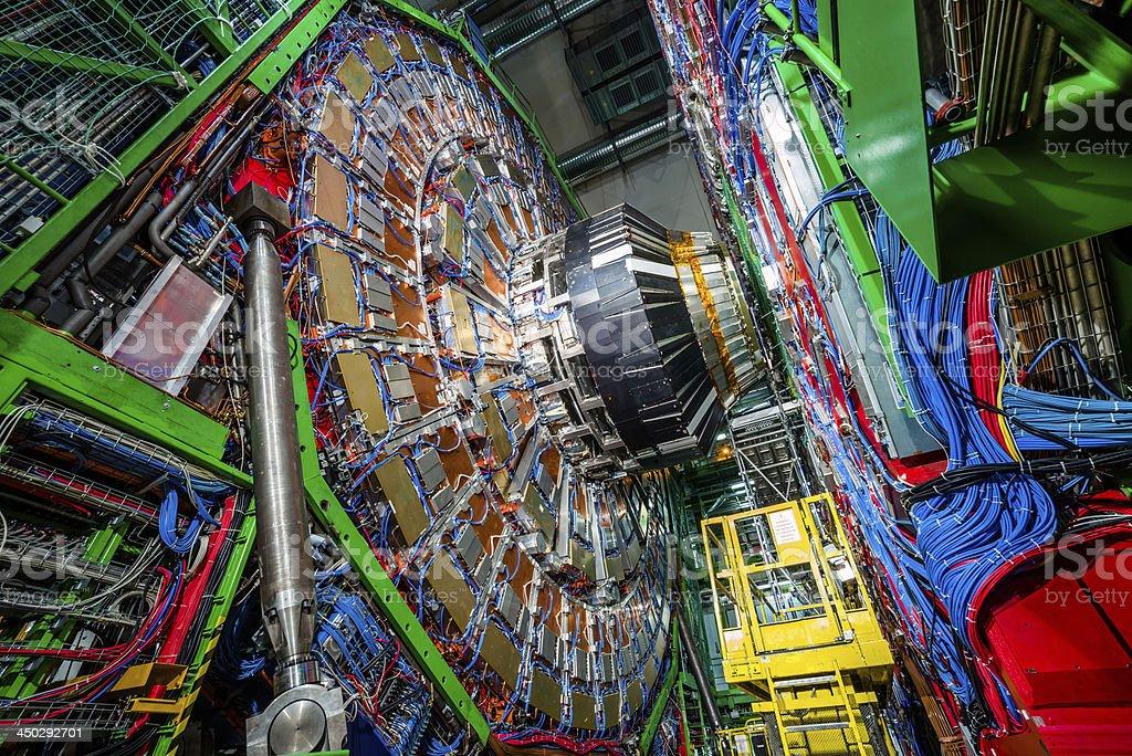 CMS Experiment Detector Muon Endcup stock photo