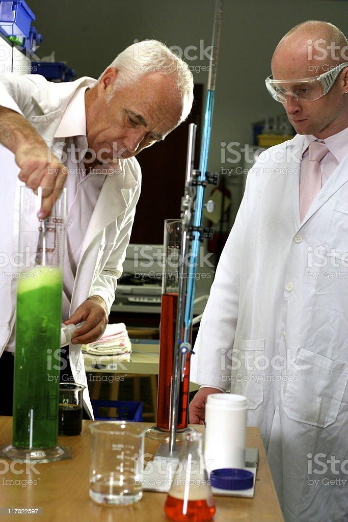 Experiment royalty-free stock photo