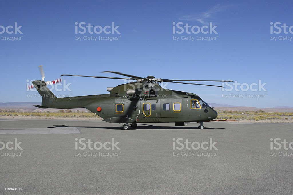 Experimental Helicopter stock photo