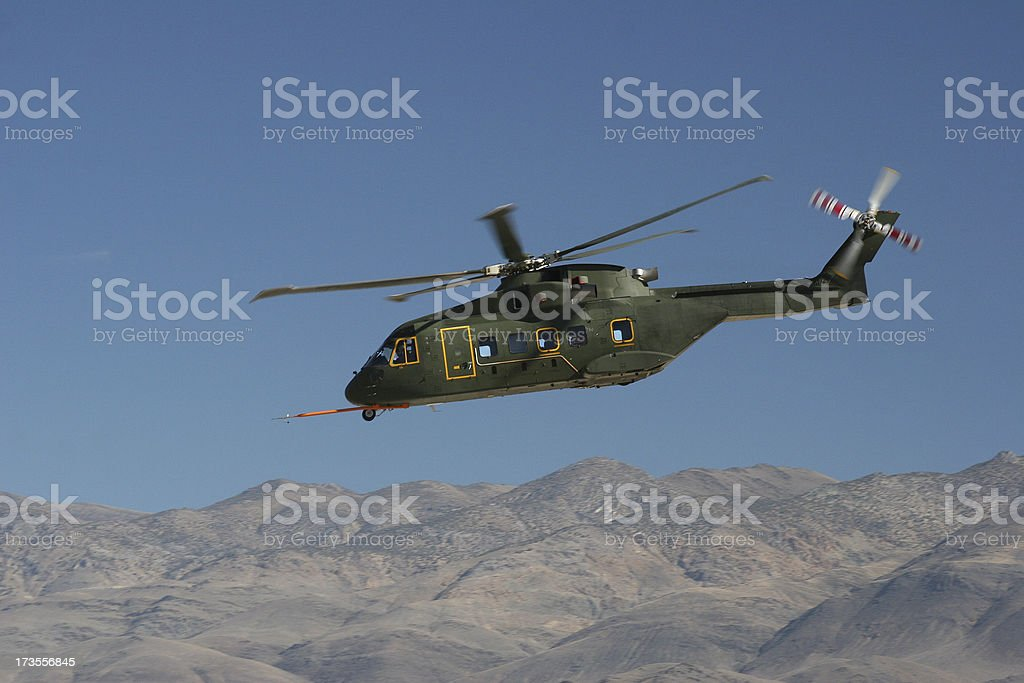 Experimental Helicopter VH 71 stock photo