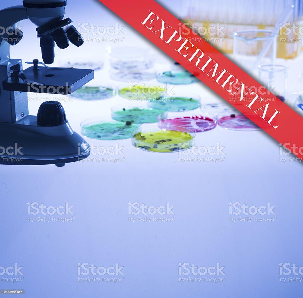 Experimental Treatment stock photo