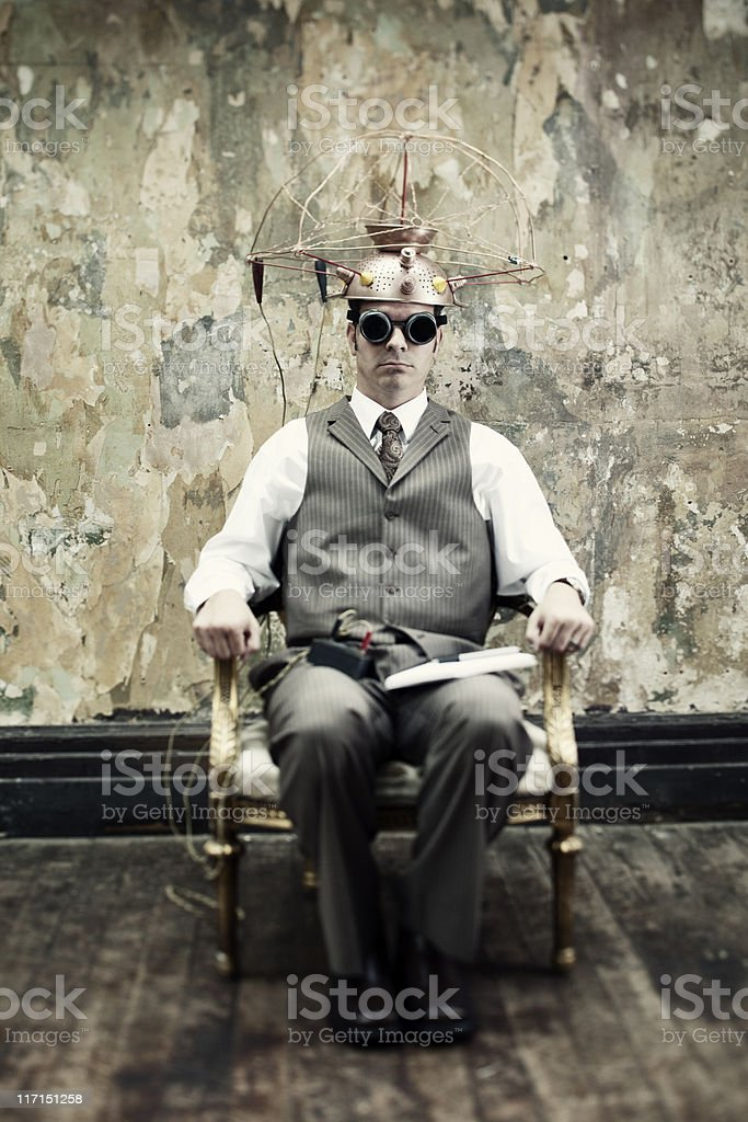 Experiments with Mind Reading stock photo