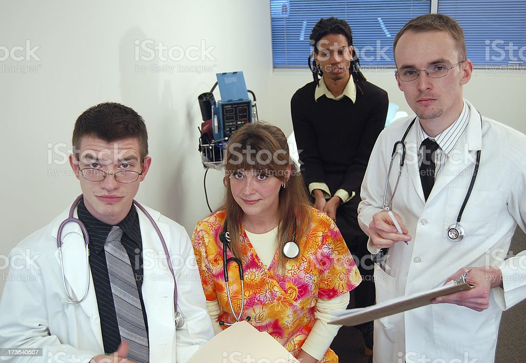 Expert Medical Staff stock photo
