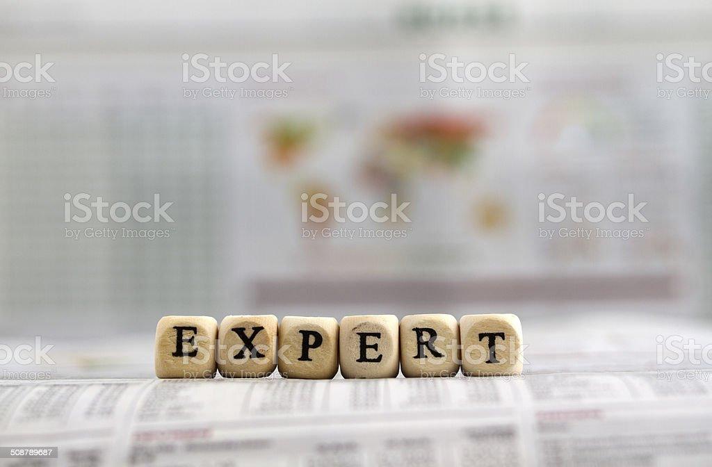 Expert stock photo