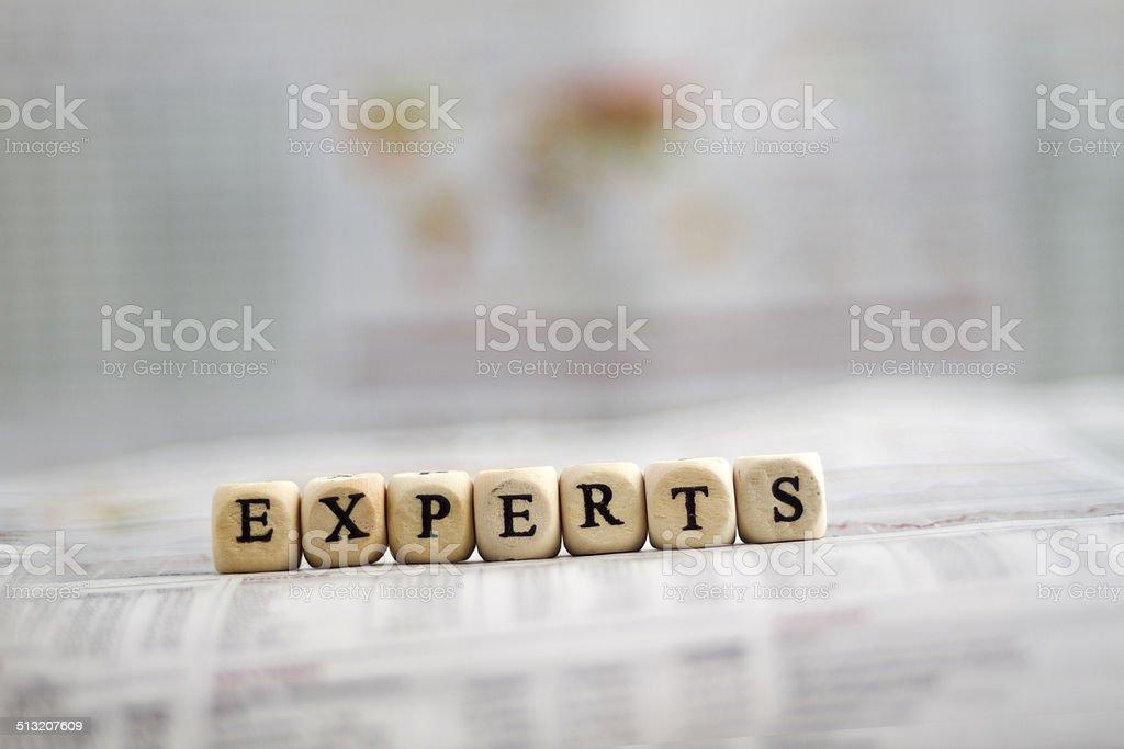 Experts stock photo