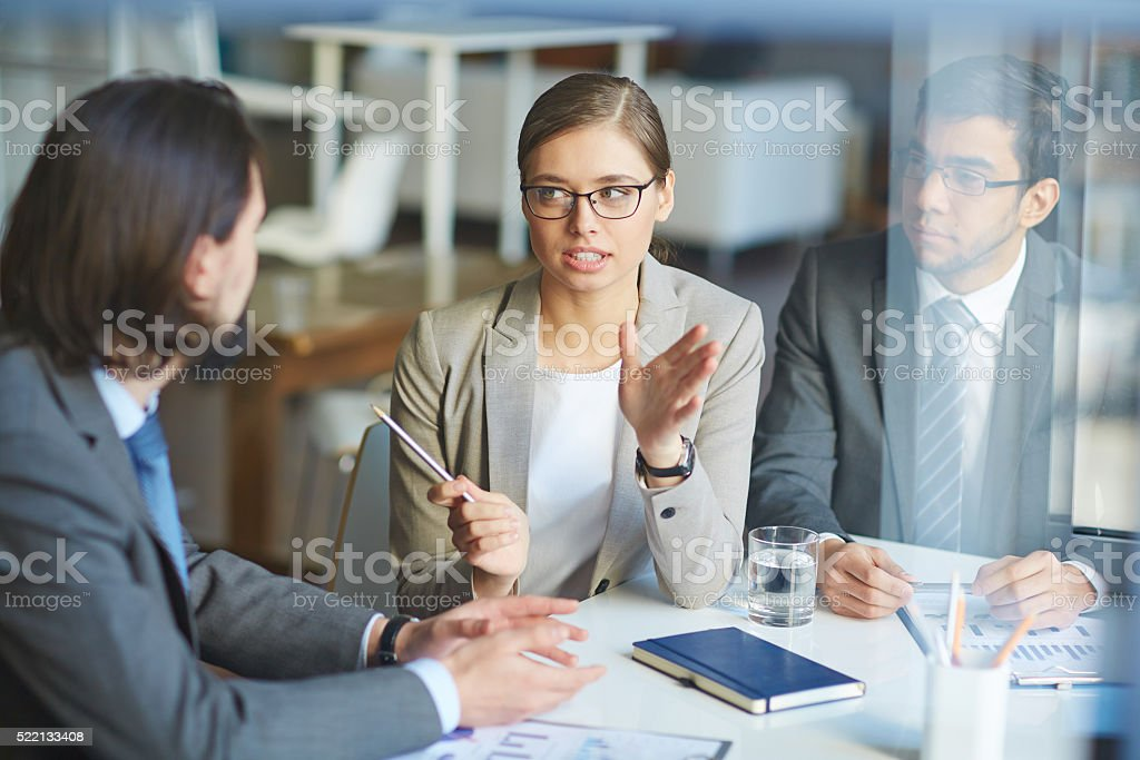 Explanation stock photo