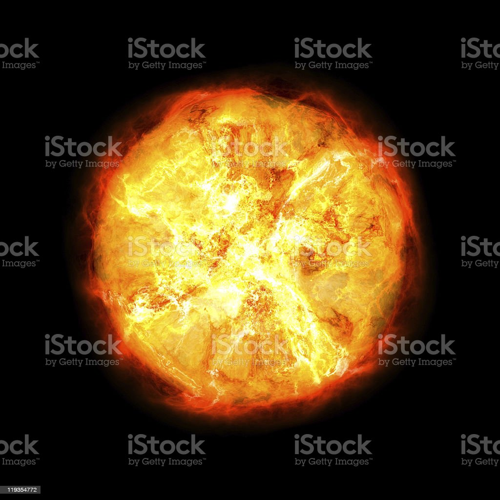 Exploding star royalty-free stock photo