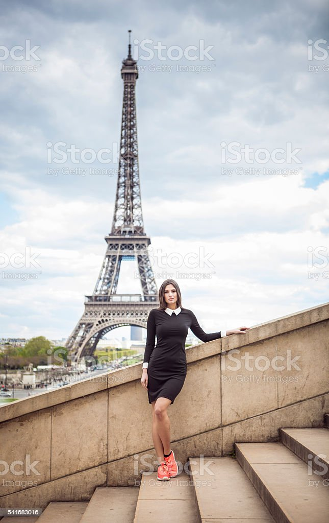 Explore The Beautiful Romantic Paris stock photo