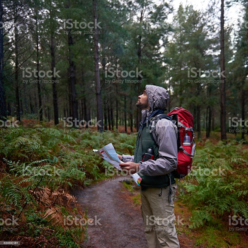 Explore your local surrounds stock photo