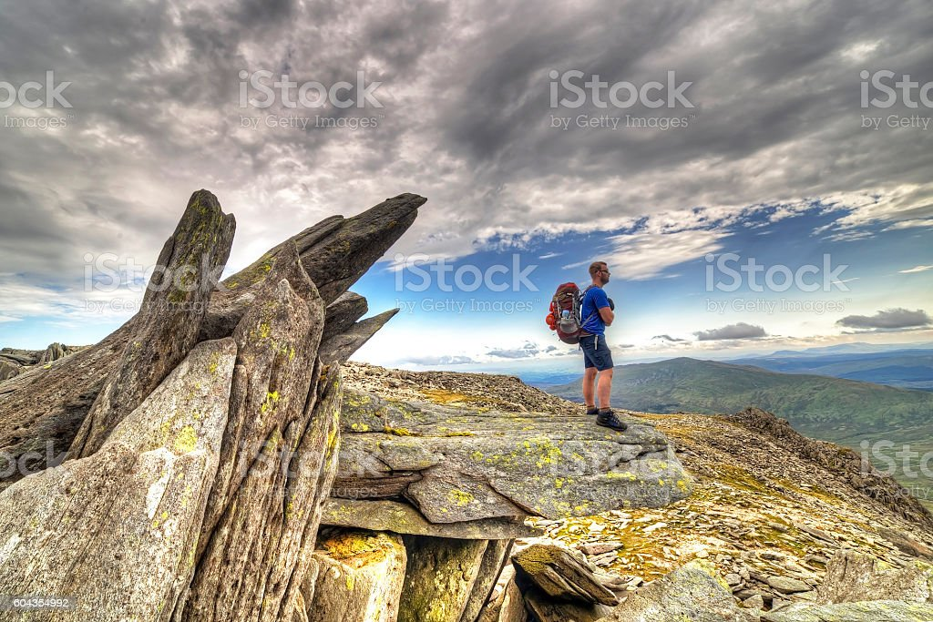 Explorer Glyder fach stock photo