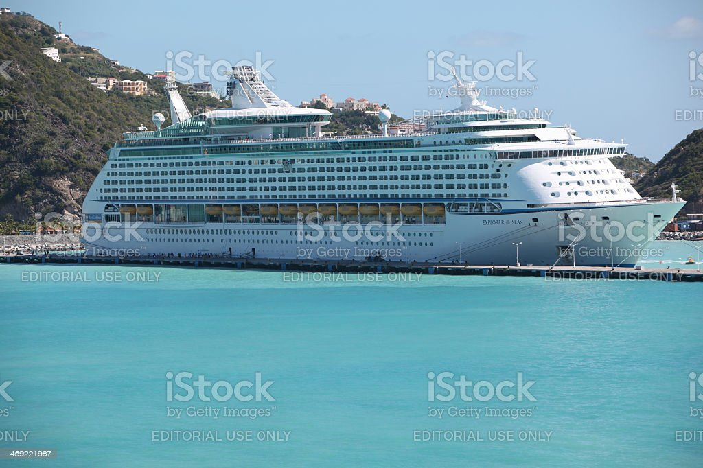 Explorer Of The Seas Cruise Ship stock photo