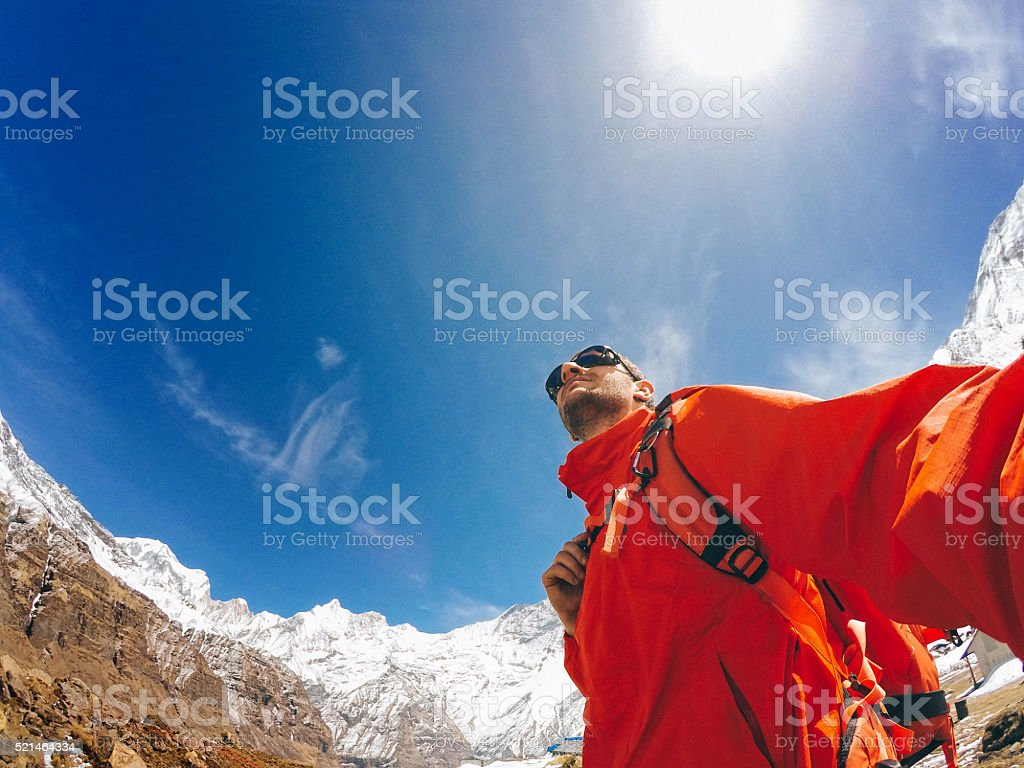 Explorer stock photo