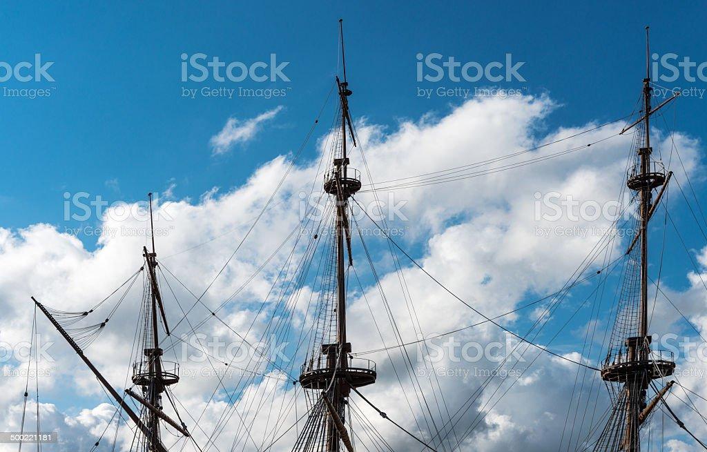 Explorer Vessel stock photo
