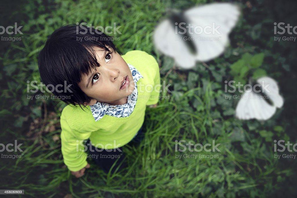 Exploring Boy royalty-free stock photo