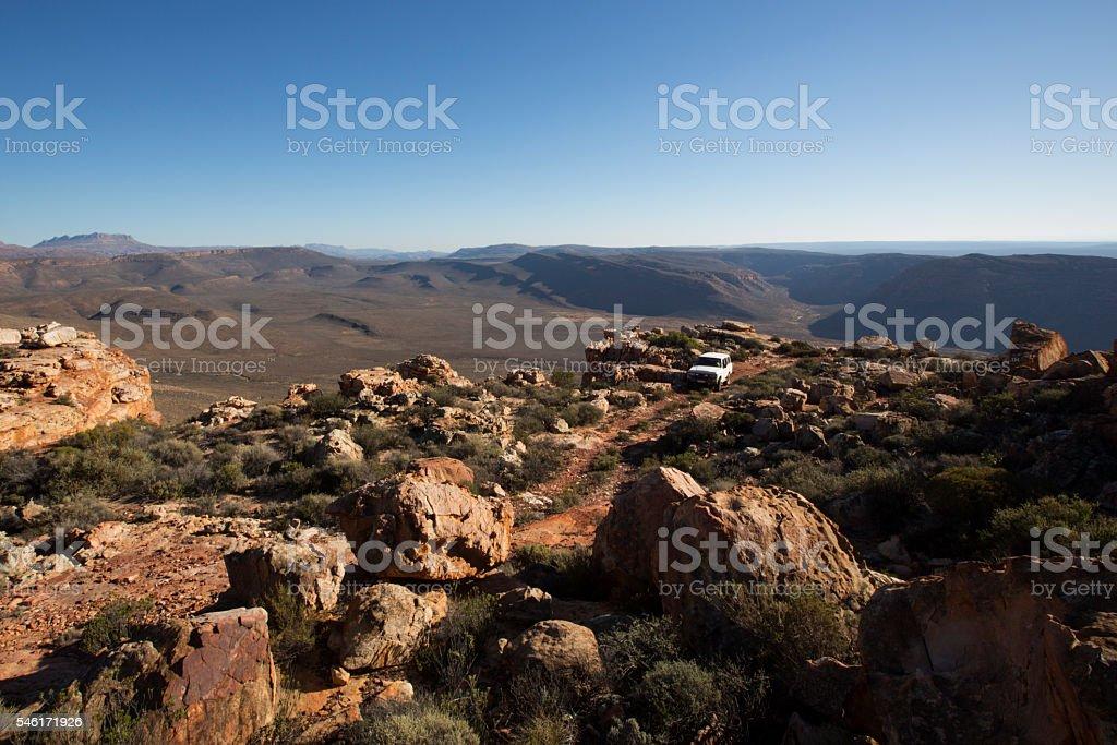 Exploring Cederberg Landscape stock photo