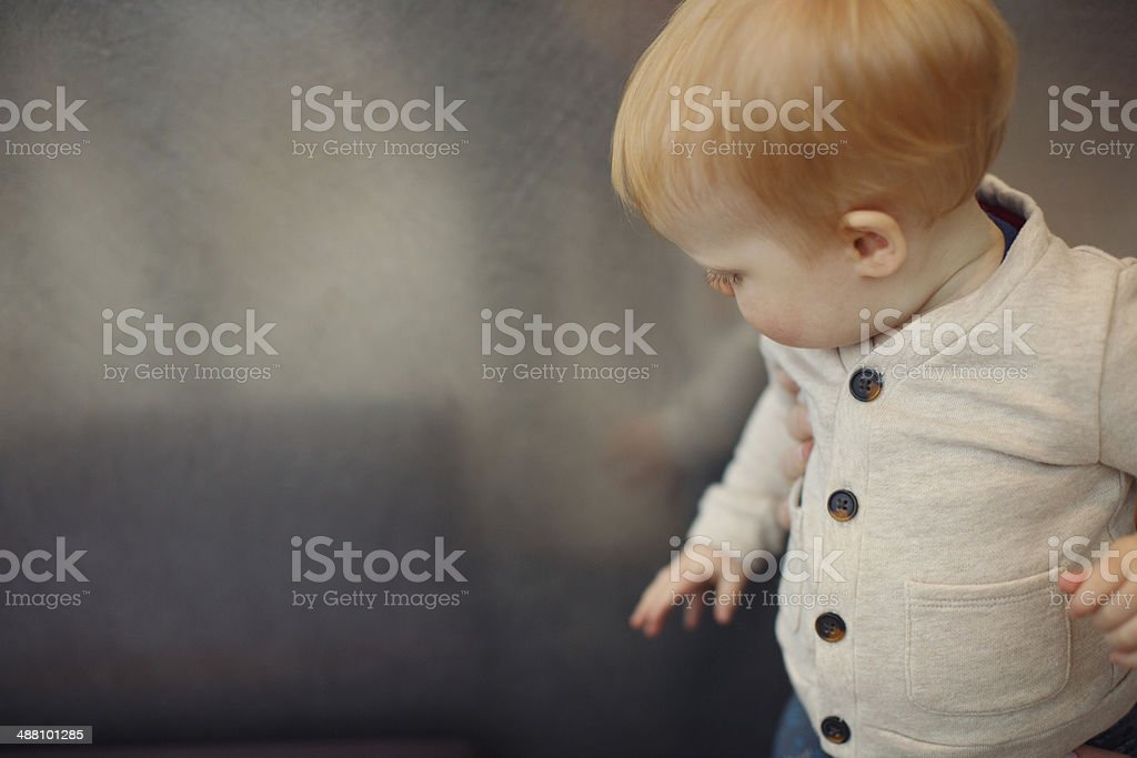 Exploring Child stock photo