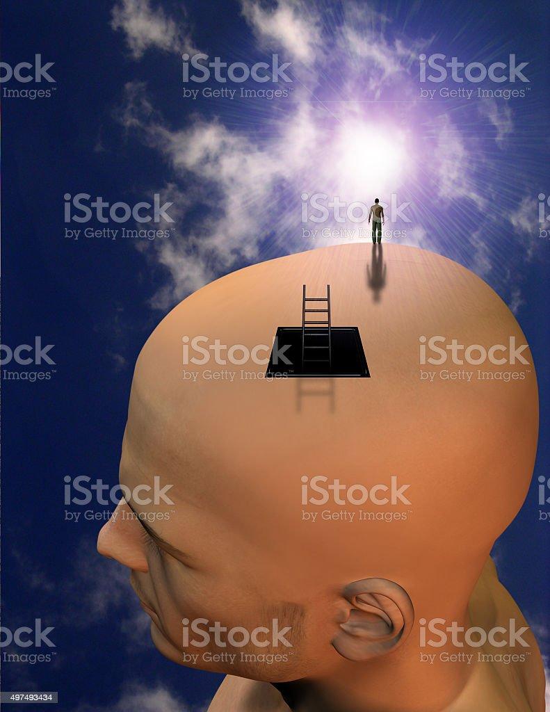 Exploring Mind stock photo