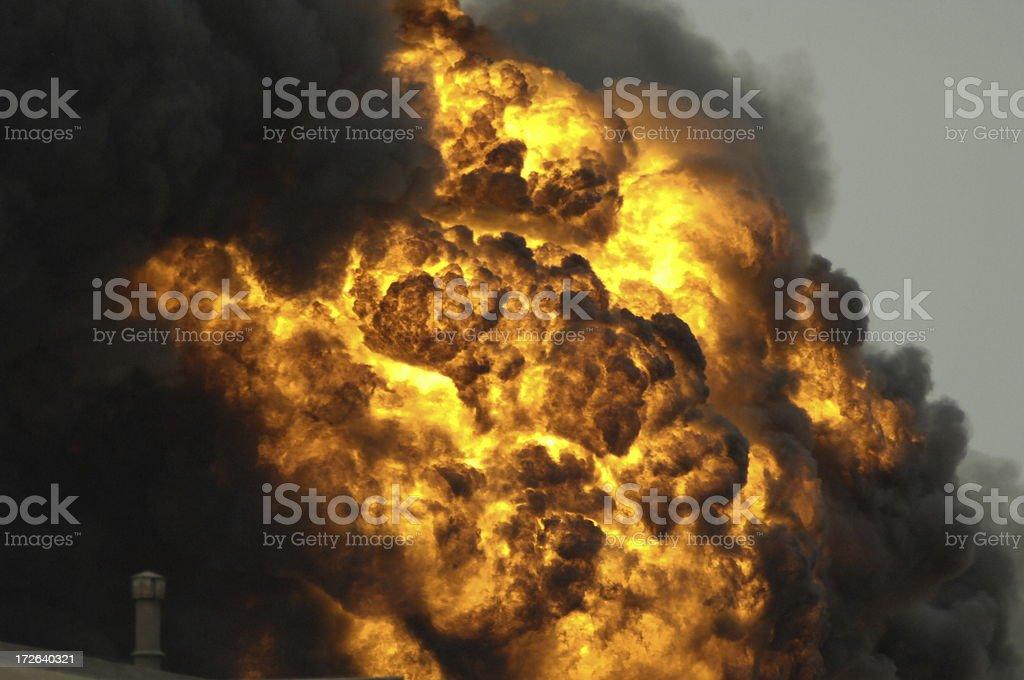 Explosion 2 royalty-free stock photo