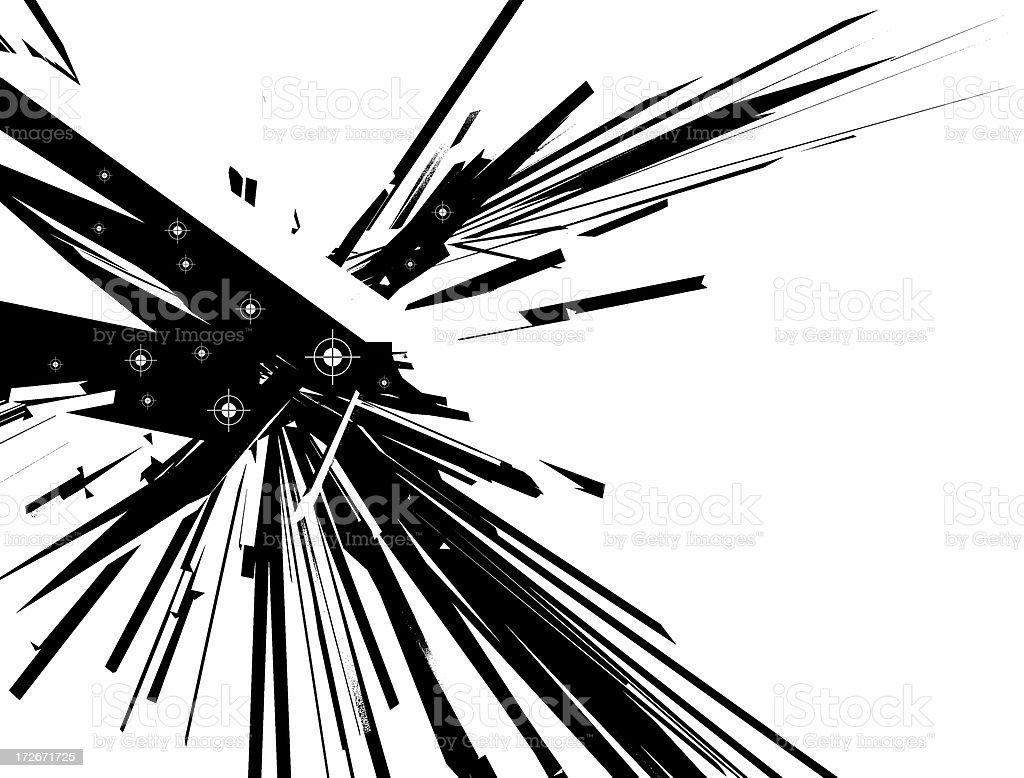 Explosion Kaos stock photo