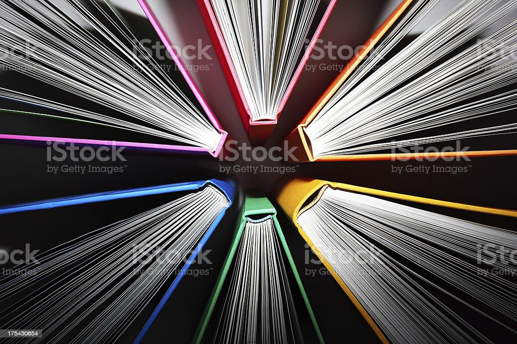 Explosion of Knowledge stock photo