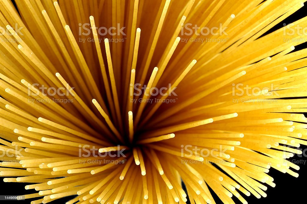 explosion pasta royalty-free stock photo