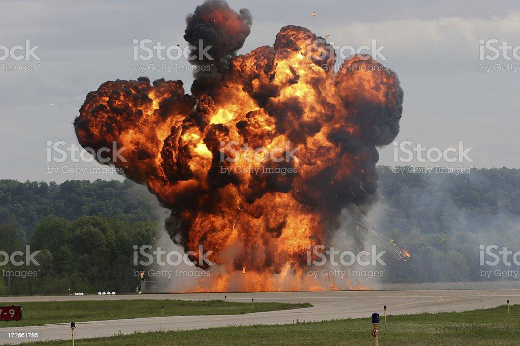 Explosion royalty-free stock photo