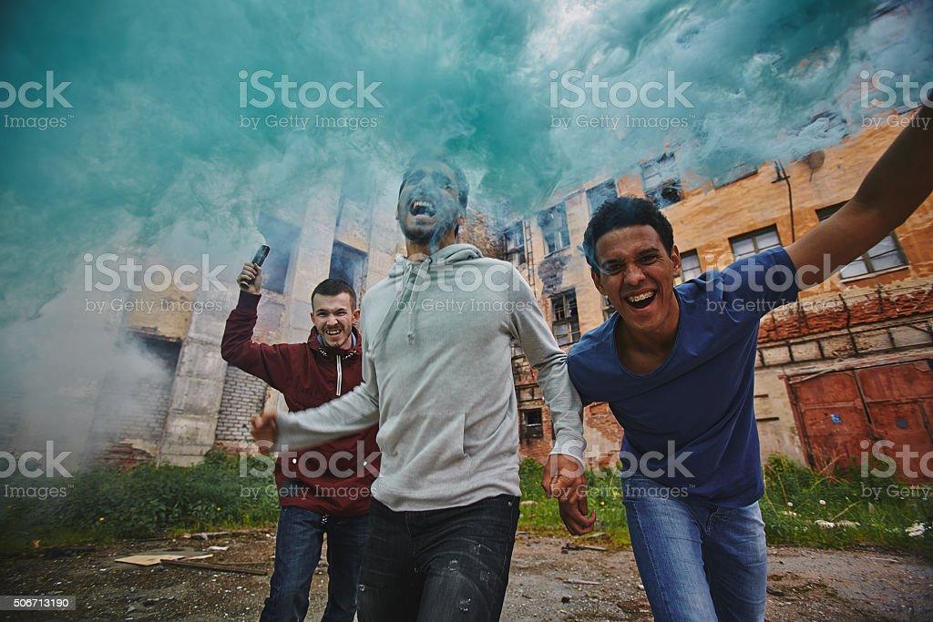 Explosion stock photo
