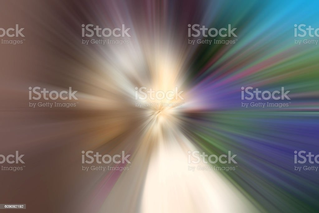 Explosive Computer Generated Background Graphic, Blue and White, XXXL stock photo