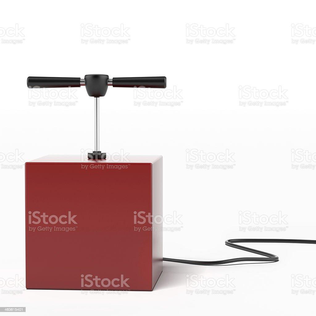 explosive detonator stock photo