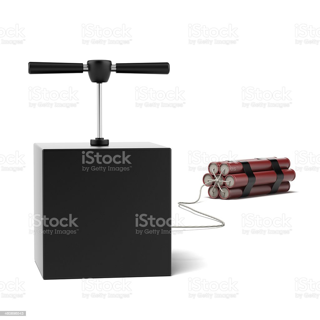 Explosive Dynamite stock photo
