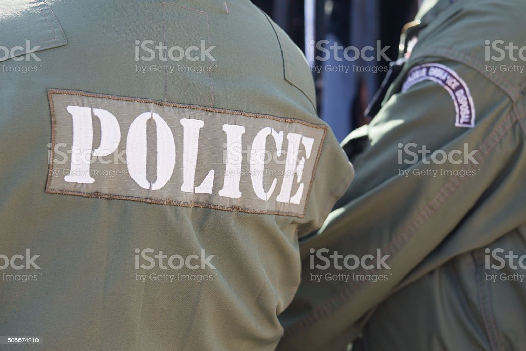 explosive ordnance disposal police stock photo