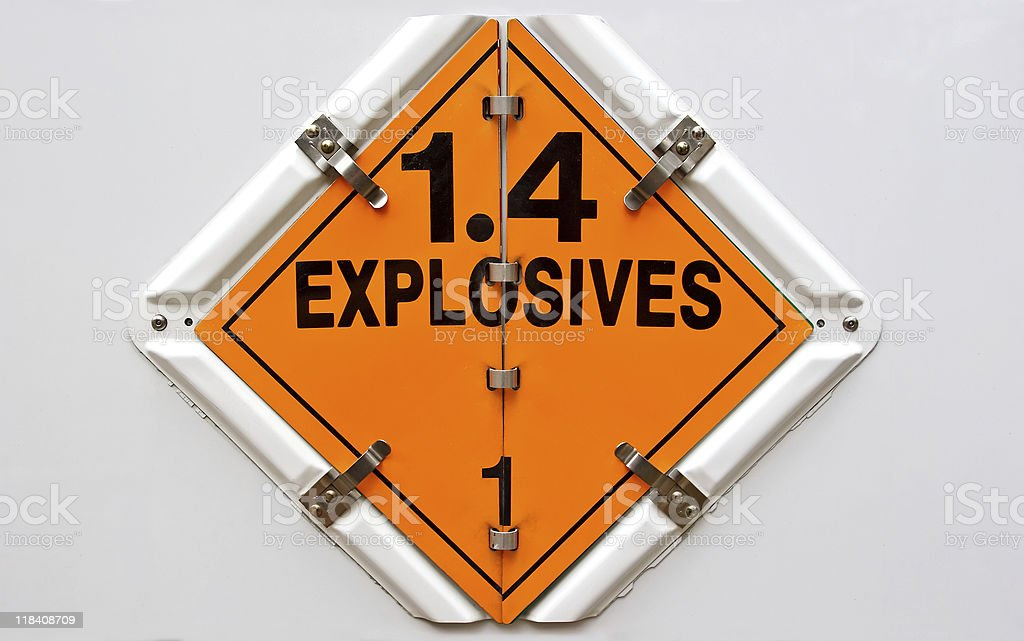 Explosives royalty-free stock photo