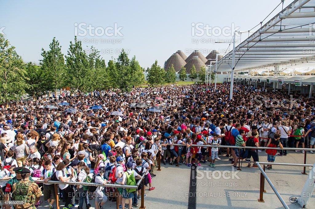 Expo 2015 stock photo
