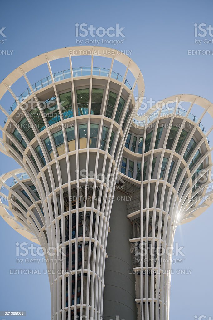 Expo 2016 antalya turkcell Tower stock photo