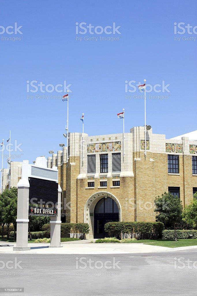 Expo Square Pavilion-Tulsa, Oklahoma Fairgrounds royalty-free stock photo