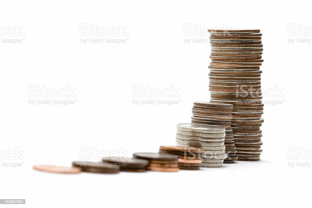 Exponential growth royalty-free stock photo