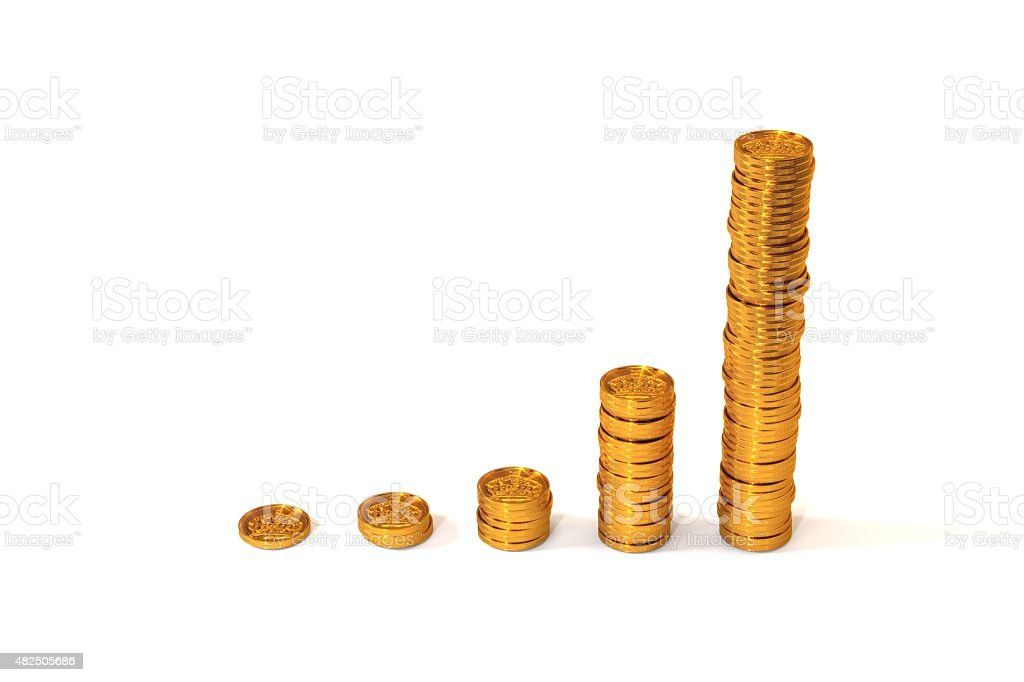 Exponential Growth stock photo