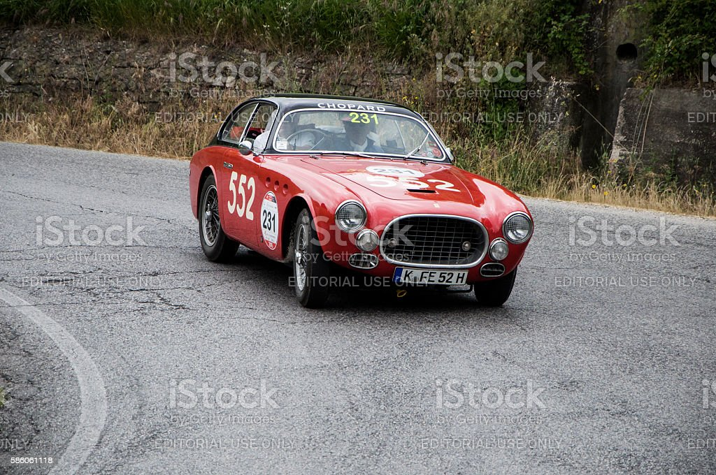 FERRARI 212 225 Export Berlinetta Tuboscocca 1952 stock photo